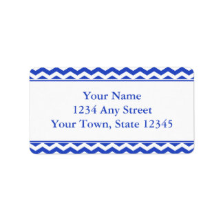Étiquettes de adresse Pré-Imprimés par Chevron Étiquettes D'adresse