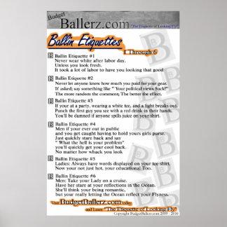 Étiquettes de Ballin Posters