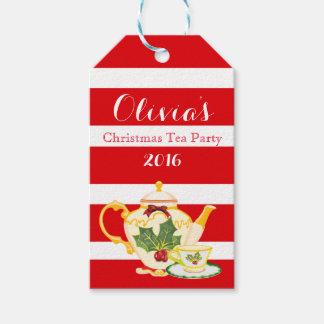 Étiquettes de cadeau de faveur d'invitations de