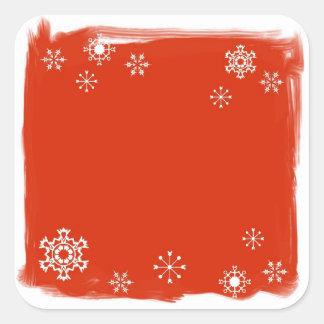Étiquettes de Noël ou autocollants nommés de