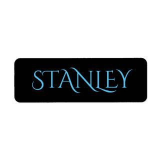 ÉTIQUETTES DE STANLEY