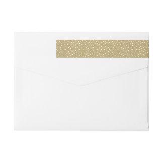 Étiquettes d'enveloppe de vacances de collection