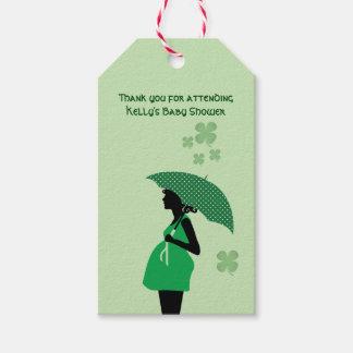 Étiquettes irlandaises de cadeau de bosse de bébé