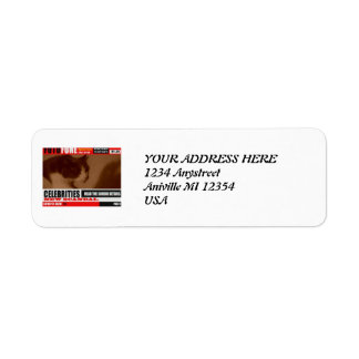 Étiquettes postales de BBS ScandaMonkey de forces