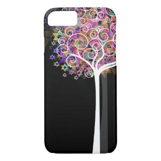 Étoile de David de PixDezines/arbre de la vie Coque iPhone 7