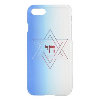Étoile de David et Chai frais et élégants Coque iPhone 7
