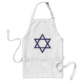 Étoile de David juive Tablier