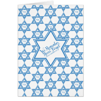 Star of David - We Remember, Never Forget