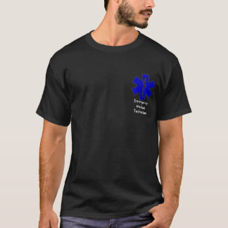 Étoile de T-shirt de la vie EMT