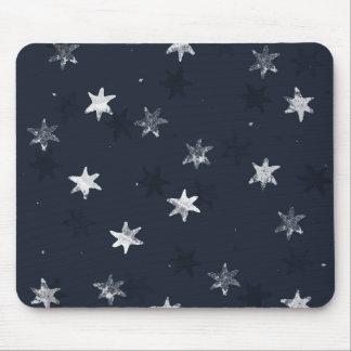 Étoile emboutie tapis de souris
