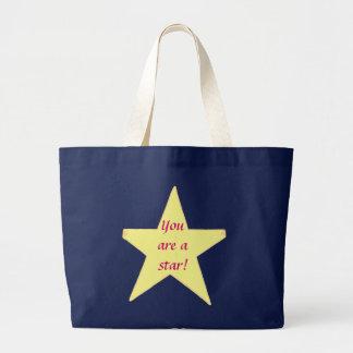 Étoile jaune, vous êtes une étoile - sacs faits