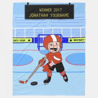 Étoile mignonne personnalisée de hockey sur glace