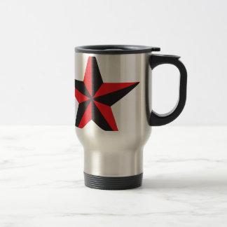 Étoile nautique mug de voyage en acier inoxydable