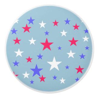Étoiles bleues blanches rouges patriotiques