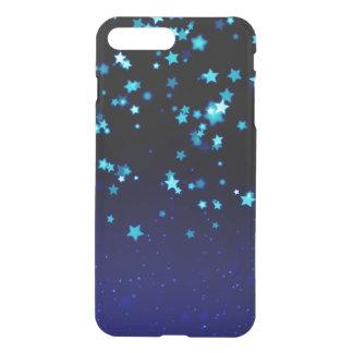 Étoiles bleues - caisse plus de déflecteur de coque iPhone 7 plus