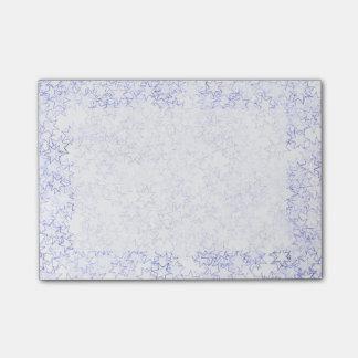 Étoiles de blanc et esprit d'équipe bleu de Kawaii