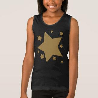 Étoiles d'or débardeur
