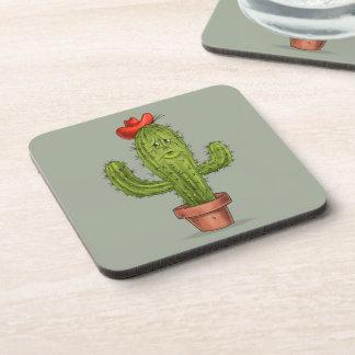 Étreignez-moi des dessous de verre de cactus