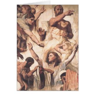 Étude de Jean Ingres- pour le martyre de St Carte