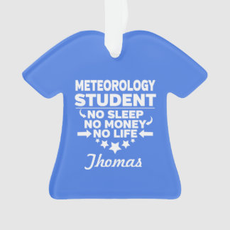 Étudiant universitaire de météorologie l'aucune