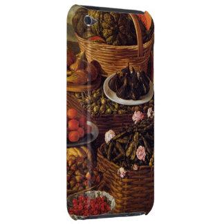 Étui Barely There iPod Le vendeur de fruit en détail par Vincenzo Campi