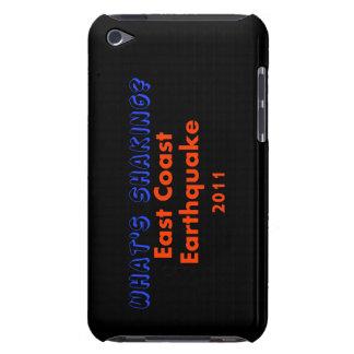 Étui Barely There iPod Tremblement de terre de Côte Est - que secoue ?
