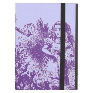 Étui iPad Air Alice vintage au pays des merveilles