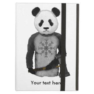 Étui iPad Air Barre de Viking de panda de crainte