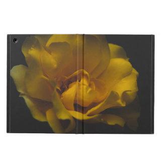 Étui iPad Air Beau rose jaune