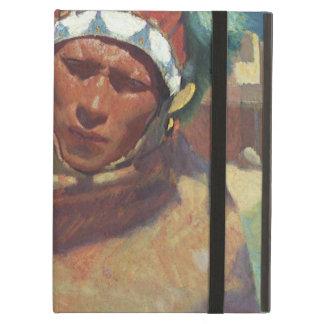Étui iPad Air Blumenschein, portrait indien indigène de Taos