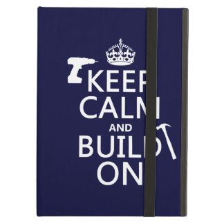 Étui iPad Air calme et construction de build-on.pngKeep dessus
