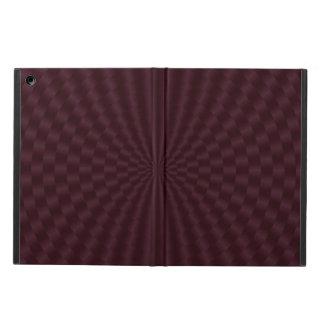Étui iPad Air Cercles géométriques rouge-foncé