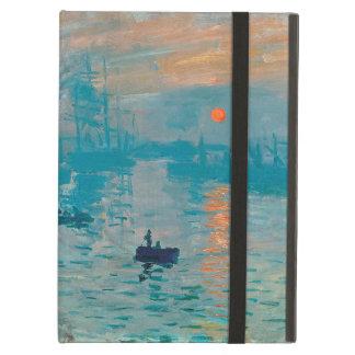 Étui iPad Air CLAUDE MONET - impression, lever de soleil 1872