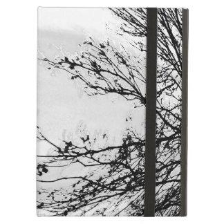 Étui iPad Air Couverture d'air blanche d'ipad de forêt par Jane