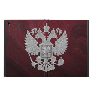 Étui iPad Air Drapeau russe d'aigle de double de symbole
