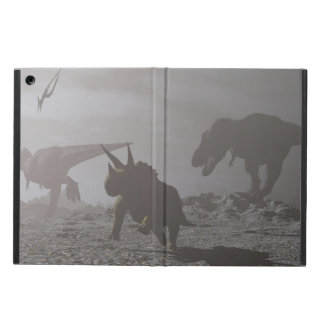Étui iPad Air Extinction des dinosaures - 3D rendent