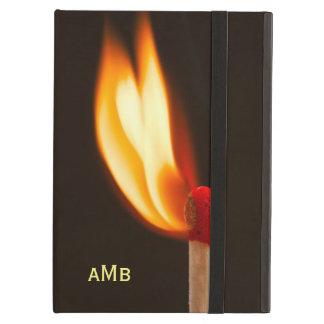 Étui iPad Air Flamme orange et jaune du feu