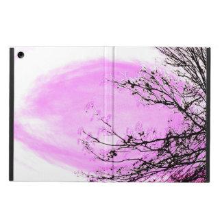 Étui iPad Air Forêt rose - Apple aèrent la couverture de