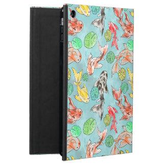 Étui iPad Air Koi pond aquarelles