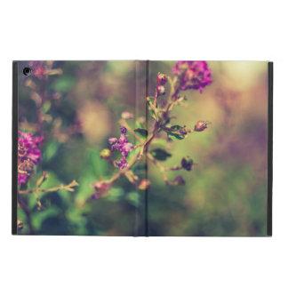 Étui iPad Air Nature pourpre d'été