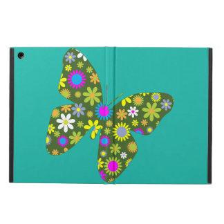 Étui iPad Air Papillon coloré vintage