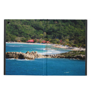 Étui iPad Air Paradis tranquille Labadee Haïti d'île