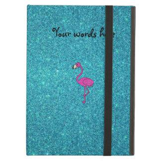 Étui iPad Air Parties scintillantes roses Girly de turquoise de