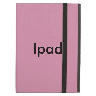 Étui iPad Air rose claire