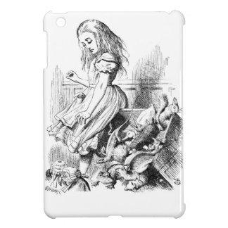 Étui iPad Mini Alice et une boîte d'animaux