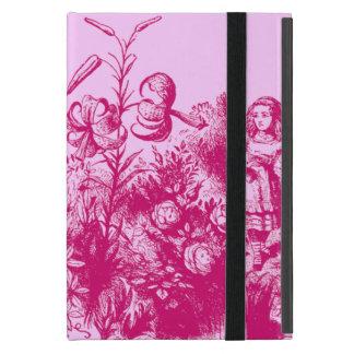 Étui iPad Mini Alice vintage au pays des merveilles