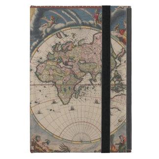 Étui iPad Mini Antiquité de cru d'art de voyage de globe de carte