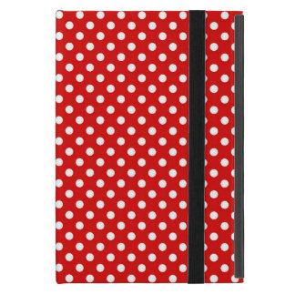 Étui iPad Mini Arrière - plan de point de polka