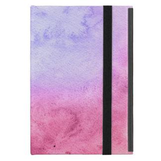 Étui iPad Mini Arrière - plan peint à la main 11 d'aquarelle