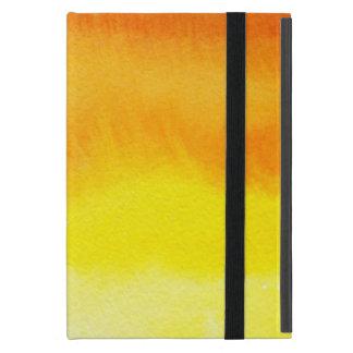 Étui iPad Mini Arrière - plan peint à la main 2 d'aquarelle